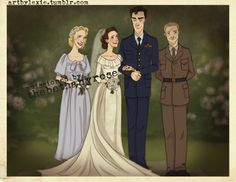 Sherlolly wedding--I'm not big on any Sherlock ships, but this picture is cute. Sherlock Fandom, Sherlock Holmes, Molly Hooper, Sherlolly, Benedict Cumberbatch Sherlock, Nerd, 221b Baker Street, Arthur Conan Doyle, Palaces