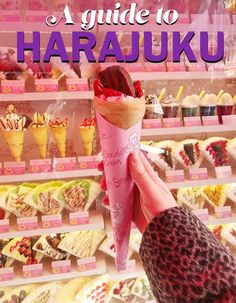 A guide to what to do in Harajuku in Tokyo, Japan!