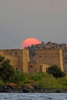 The Philae Temple, Aswan, Egypt.