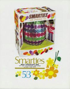 1970 smarties easter egg