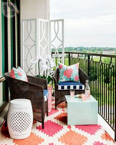 Make your small outdoor space shine with these helpful tips and tricks.