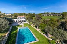 Lovely pool with pretty views over countryside and golf. www.eblifestyle.fr