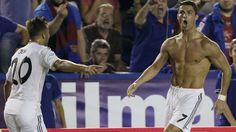 Cristiano Ronaldo y el gran problema que su celebración causó. #depor