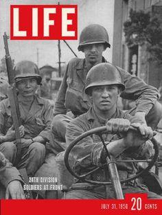 Image of Korean War. Carl Mydans.