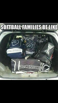 my truck looks like this year round! Baseball, football, basketball.....we do it all seems like lol