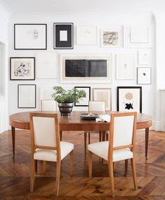 16 Delicious Dining Rooms. Eclectic Gallery WallLiving ...