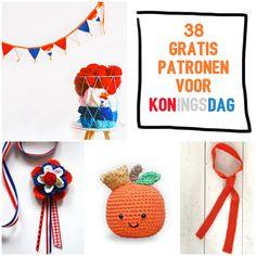 Op zoek naar leuke zelfmaakideetjes voor Koningsdag om te verkopen op de vrijmarkt? Kijk dan op Freubelweb!
