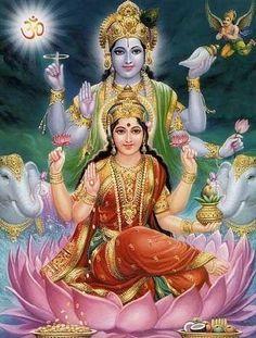 Vishnu e Sarasvath