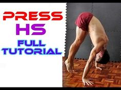 Learn Press to Handstand from 0