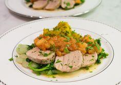 Pork Tenderloin, Squash, Quince Chutney @ Preppings.com