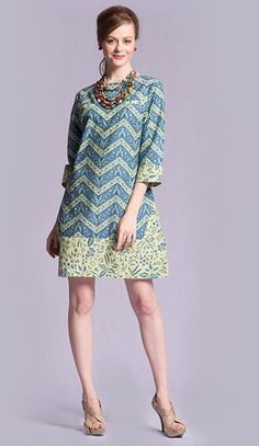 Batik dress inspiration - choose your fabric and have it tailor made to your measurements by measuring2fit