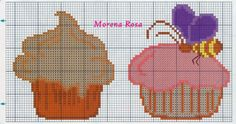 Gallery.ru / Фото #33 - panos de prato3 - tekere205 Alpha Patterns, Loom Patterns, Cross Stitch Embroidery, Cross Stitch Patterns, Cupcake Cross Stitch, Baby Dragon, Stitch 2, Loom Beading, Hama Beads