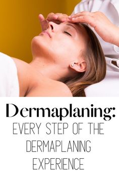 Ever wondered what happens during a dermaplaning treatment? This video shows every step, including aftercare! Dermaplaning is a skincare treatment that uses a fine blade to remove peach fuzz and dead skin cells. The results leave the skin looking younger and more hydrated (and who doesn't want dewy skin?) #skincare #dermaplaning #peachfuzz #dewyskin