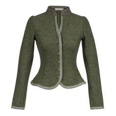 Fritzi Walkjanker Fichte - Jackets - Tradition - Online Shop - Lena Hoschek Online Shop