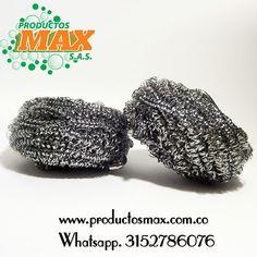 Esponjas de Acero Inoxidable, es un producto con un único filamento de acero…