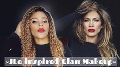 JLO Glam & Classic Makeup ( Inspired )