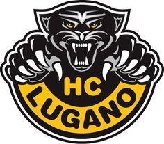 HC Lugano Primary Logo on Chris Creamer's Sports Logos Page - SportsLogos. A virtual museum of sports logos, uniforms and historical items. Lugano, Pantera Logo, Hockey Logos, Sports Logos, Sports Teams, Hockey World, Anniversary Logo, Team Mascots, Great Logos
