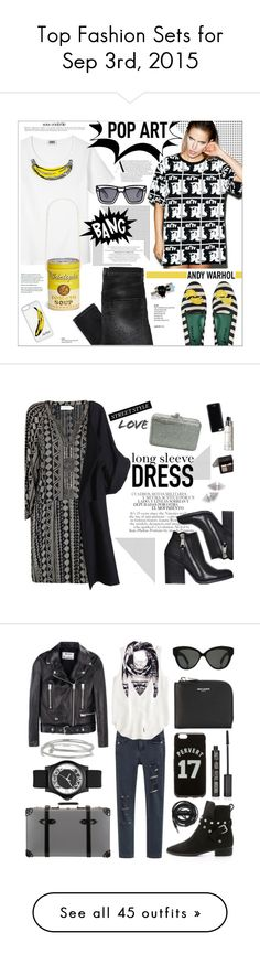 """""""Top Fashion Sets for Sep 3rd, 2015"""" by polyvore ❤ liked on Polyvore featuring BOY London, Sonia by Sonia Rykiel, Chictopia, CellPowerCases, Blue Bird, Anja, Ksubi, Delfina Delettrez, Andy Warhol and blackandwhite"""