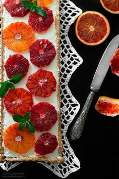 Can't boil an egg: Lemon mousse & blood orange tart Lemon Mousse, Blood Orange, Boiled Eggs, Grapefruit, Tart, Sweet Tooth, Tooth Fairy, Canning, Recipes