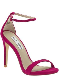 Steve Madden Stecy - Fuschia by: Steve Madden @Piperlime
