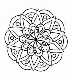 Easy coloring pages, mandala coloring pages, coloring sheets, coloring books, mandala tattoo Mandala Art, Mandala Design, Mandalas Painting, Mandalas Drawing, Mandala Pattern, Zentangle Patterns, Dot Painting, Mandalas To Color, Easy Coloring Pages