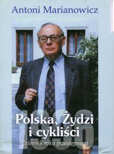 """""""Polska, Żydzi i cykliści. Dziennik roku przestępnego"""" Antoni Marianowicz Cover by Krystyna Töpfer  Published by Wydawnictwo Iskry 1999"""