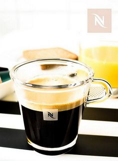 Glass Espresso Cups | See espresso coffee creations come to life in our iconic tempered glass cups. Holiday gift giving is easy with Nespresso!