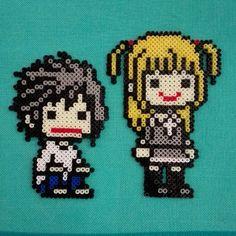 Death Note hama mini beads by latanadelconiglio