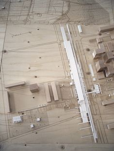 Maquette Urban satellite by Alexander Daxböck, via Behance Architecture Board, Architecture Graphics, Architecture Student, Architecture Drawings, Concept Architecture, Landscape Architecture, Architecture Design, Vancouver Architecture, Landscape Model