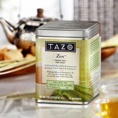 Tazo® Zen™ Full Leaf Tea  4.3    An enlightening blend of full-leaf green teas with spearmint and lemony flavors