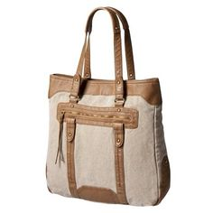 great tote for school and work! love the cognac. target. TOO BAD IT'S GONE! :(