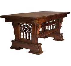 Gothic Desk (Library Table)
