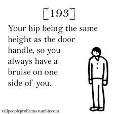 Tall people problems I just did this!