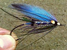 Ice Wisp Spey Fly - I'm going to try this pattern but use dyed bucktail for the wing and use a better quality spey feather option Fly Fishing Tips, Fishing Life, Best Fishing, Fishing Reels, Fly Reels, Fishing Rod, Steelhead Flies, Fly Casting, Saltwater Flies