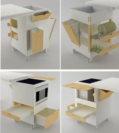 Space Decorating Ideas for small kitchens | ... kitchen design modern minimalist kithen kitchen design for small space
