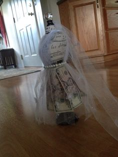 Money Umbrella For A Wedding Shower Creative Way To Give