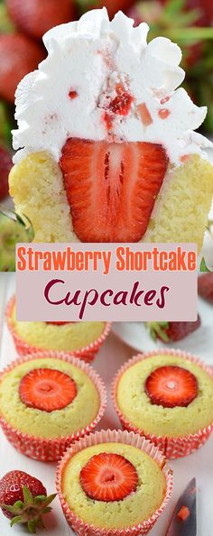 Cupcake Strawberry /& Vanilla Kissen
