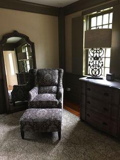 Attrayant Alex Granite Chair U0026 Ottoman, Newport Natural Dresser, Newport Natural  Floor Mirror, Fielding