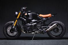 It seems that BMW's R nineT has become the modern equivalent of Yamaha's SR500 in its never-ending ability to look goodcustomised. Whether it be a cafe racer, enduro, bobber, or some other beautiful creation, the boxer from Bavaria seems to have a genetic resistance to looking bad. It's also become a rite of passage for shops looking to hit the big time; if you can take on a 9T and make a splash, it seems like your going places. And needless to say that tonight's bike is just...