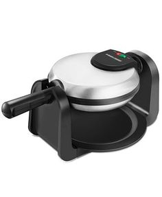 Sunday mornings aren't complete without some steaming hot, syrup-smothered waffles. Black & Decker' Rotary Belgian waffle maker is up for the job and lives up to your high expectations so your Sunday mornings are super sweet.