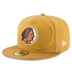 buy popular 9e6ad fb76c Men s Washington Redskins New Era Gold Sideline Classic 59FIFTY Fitted Hat,  Sale   19.99 -