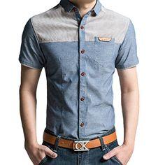Minibee Men's Cotton Short Sleeve Polo T-shirt(Blue M) Minibee http://www.amazon.com/dp/B00WE54W58/ref=cm_sw_r_pi_dp_8iCnvb1CEZ792
