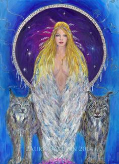 Freyja is one of the most important Goddesses of the Norse Pantheon. She is a Goddess of the Vanir, and also of the Aesir. She is a Goddess of