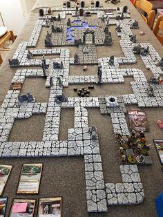 Miniature Bases, Hirst Arts, Rpg Map, Game Terrain, Wargaming Terrain, Toy Art, Small World, Design Development, Survival Skills