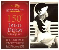 The 1980's at the #IrishDerby #Fashion #Style #Racing #HorseRacing #Ireland #80s