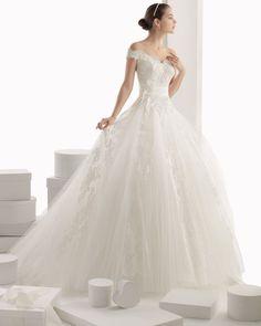 Rosa Clara / Off-The-Shoulder Princess Ball Gown, Wedding Dress - Malaysia   Designer Bridal Room
