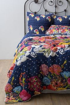 Jardin Quilt - Anthropologie.com for guest room