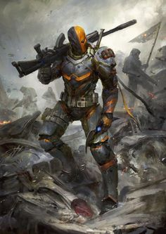 Unmasked version of the Deathstroke i did for InkInk Collectables Think i prefer this verson. looks way more metal gear Deathstroke the Terminator - Unmasked Marvel Vs, Marvel Dc Comics, Dc Comics Art, Dc Deathstroke, Deathstroke The Terminator, Deadshot, Deathstroke Cosplay, Comic Villains, Dc Comics Characters