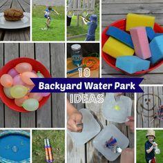 DIY Backyard Water Park | 11 Back-to-Basics Outdoor Activities for Kids