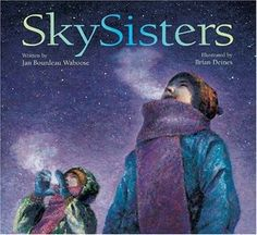 Skysisters -- paintings are nice examples for Northern light art - also a nice story about the north.
